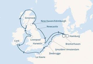 Deutschland, Belgium, Frankreich, Irland, Großbritannien